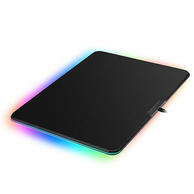 RGB LED Lighting Hard Gaming Mouse Pad/Mat Backlight Colorful 318x218x3.8mm