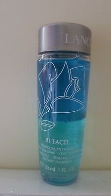 Lancome Bi Facil Instant Eye Cleanser 30ml Make Up Remover NON OILY Sensitive