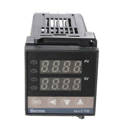 Dual PID Digital Temperature Control Controller Thermocouple REX-C100