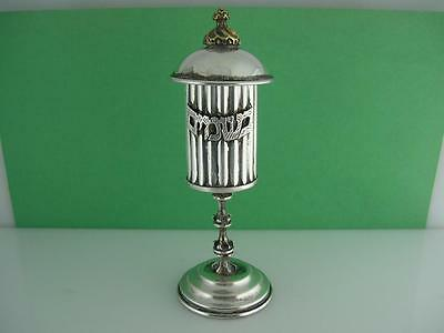 Sterling Silver Besamim Spice Tower ~ mixed metals ~ ornamental