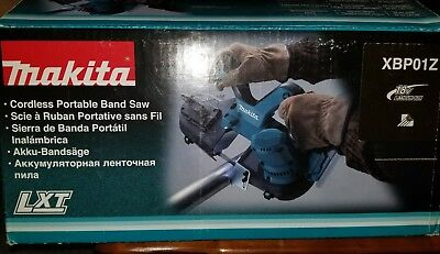 New Makita XBP01Z Compact Bandsaw Tool only Cordless 18V LXT Band Saw.