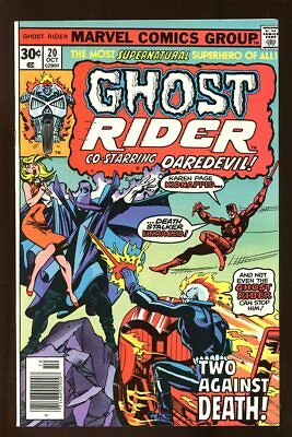 GHOST RIDER #20 VERY FINE/ NEAR MINT 1976 MARVEL COMICS bin-2017-3118
