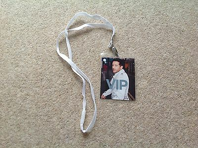 Matt Cardle - Porcelain Tour Official VIP Lanyard - Pop X Factor