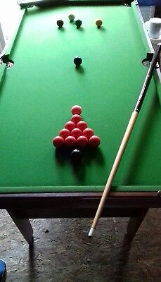Snooker table by Riley