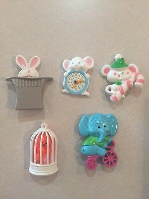 Vintage Lot of 5 Avon Kid's Pins - In Very Good Condition