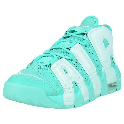Nike Girls Air More Uptempo Gs Island Green White Scottie Pippen 415082 300