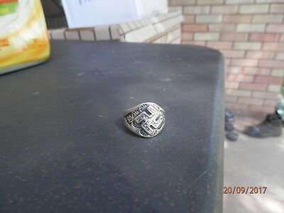 Hopt Good Luck Symbol    PRE-WW ll  Silver Ring