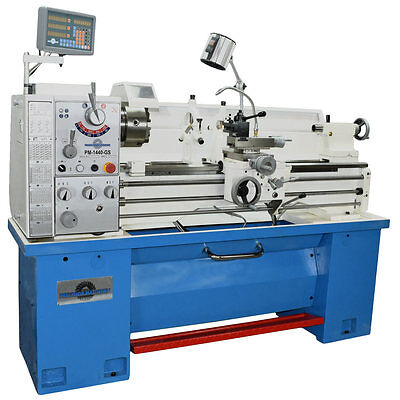 """Pm1440Gs Gunsmith Metal Lathe, 2"""" Spindle Bore 2-Axis Dro, Qctp, Free Shipping!"""