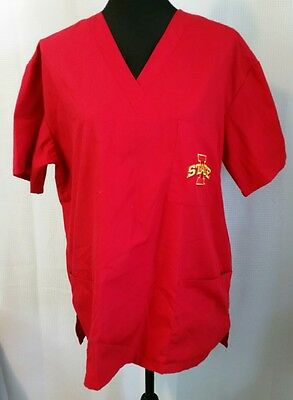Iowa State Scrub Top - Size Medium - VGC