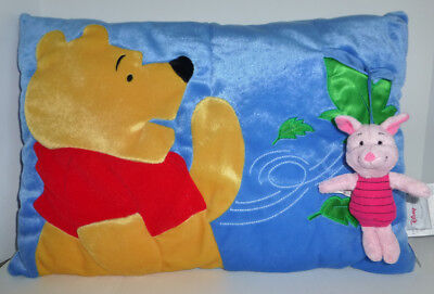 Disney Store Winnie the Pooh Piglet Plush in Pocket Pillow