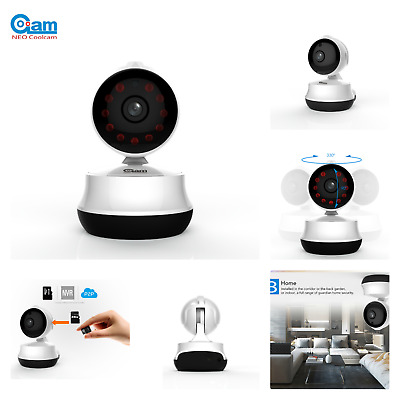 Baby Monitor Wireless Video Night Vision 2 Way Audio Pet Security Camera 720P HD