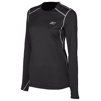 Klim Solstice 3.0 Base Layer Shirt Black Womens All Sizes