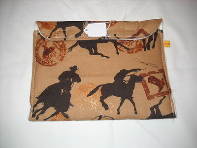Breyer pony/peter stone pebbles pony pouch pocket custom model horse fabric