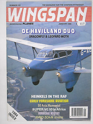 January 1995 Wingspan magazine