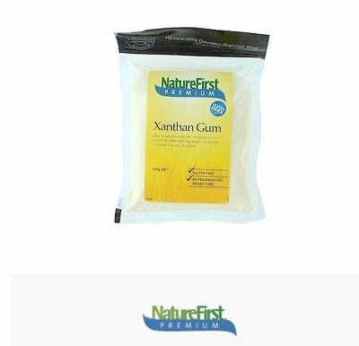 6 x 100g NATURES FIRST Xanthan Gum ( Total 600g ) Gluten Free Food Thickener