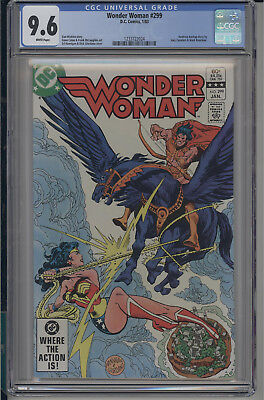 Wonder Woman #299 CGC 9.6 NM+ DC 1983 ***SHIPPING DISCOUNTS***