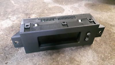 Opel Corsa D Bordcomputer Display Radio Temperatur / 13 209 460