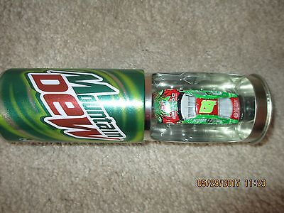 Limited Edition Mountain Dew NASCAR #19 1:64 Diecast Car in Pop Can New In Box