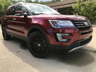 """2016 Ford Explorer Limited Sport Utility 4-Door 2016 Ford Explorer Limited 3.5L FWD /Navigation Leather/Camera/TINTED/20""""/Pano"""