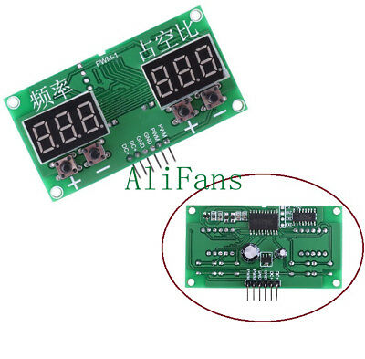 6Hz-100KHz PWM Pulse 0-99% Frequency Square Wave Signal Generator Duty Cycle AF
