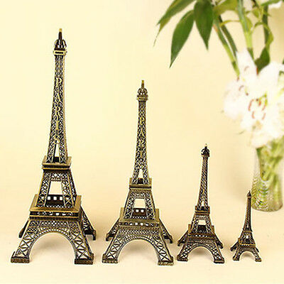 Fine Metal Eiffel Tower Paris Souvenir Miniature Decoration Birthday Gift Model
