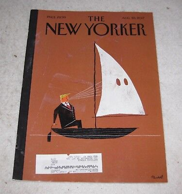 The New Yorker Magazine Back Issue Aug. 28, 2017