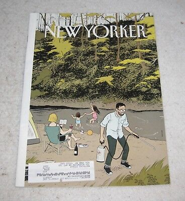 The New Yorker Magazine Back Issue Aug. 21, 2017