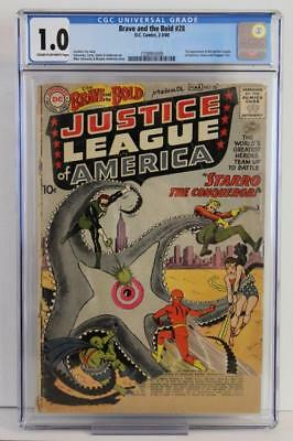 Brave and Bold #28 - CGC 1.0 FR - DC 1960 - 1st App of Justice League of America