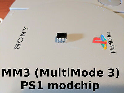 Multimode 3 (MM3)  - PlayStation 1 (PSX, PS1, PSone) - Modchip - New, Chip Only