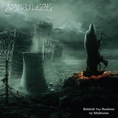 Sacrilege - Behind The Realms Of Madness (Reissue)  Cd New+