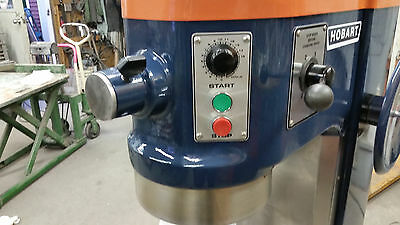 Hobart 60 qt Mixer bowl, paddle, dough hook & whip 115 volt Single phase w timer