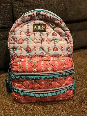Matilda Jane New With Tags School Backpack Charm School Backpack Girls