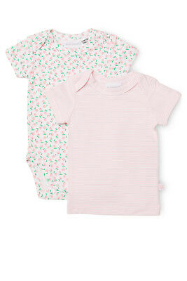 NEW Marquise Short Sleeve Top and Short Sleeve Bodysuit 2PK Pink