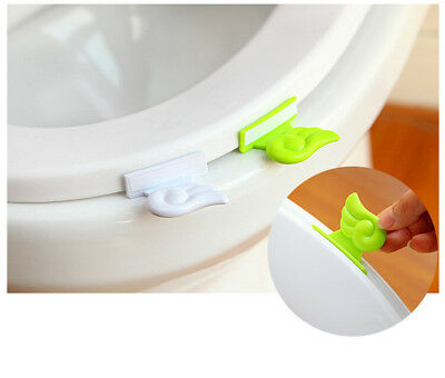 Wings Toilet Cover  Portable Bathroom Seat Clamshell Holder Accessories New