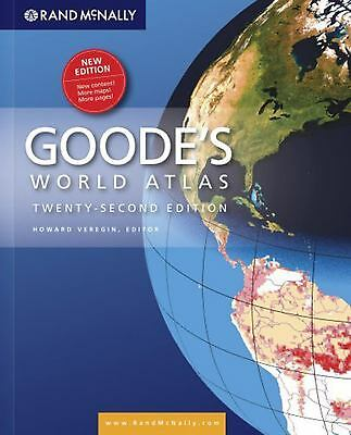 Rand McNally Goode's World Atlas by