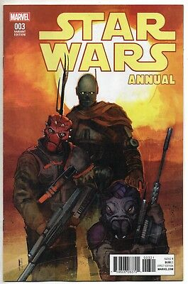Star Wars Annual #3 Marvel Comics Rod Reis Variant Cover NM