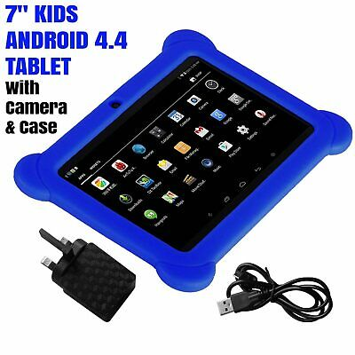7″ INCH ANDROID TABLET 8GB QUAD CORE 4.4 Camera & WIFI for Kids Children UK