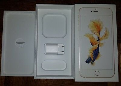 iPhone 6s Plus Gold 32GB retail box + USB power adapter