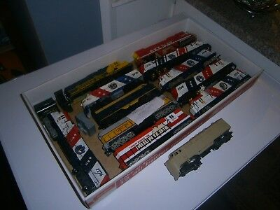 Bulk Lot of Junk Tyco HO Locomotives for Spares or Repairs