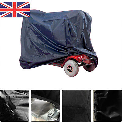 170Cm Mobility Scooter Cover Heavy Duty Waterproof Polyester Rain Protector Uk