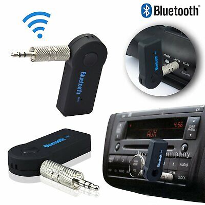 Ricevitore Adattatore Aux AMP Bluetooth V3.0 3.5mm per Auto Dongle Stereo A2DP
