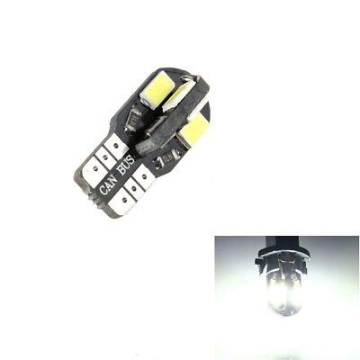 T10 Car Bulbs LED Lights w5w 501 Error Free Interior Canbus 8 5730 SMD Wedge