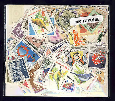 Turquie - Turkey 300 timbres différents