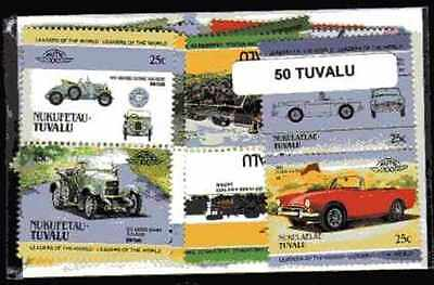Tuvalu 50 timbres différents