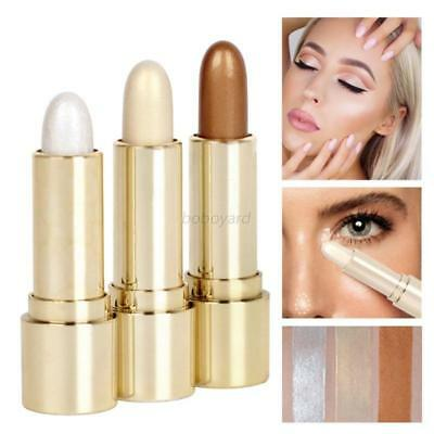 Beauty High Lights Stick Shimmer Pearl Cream Highlighter Contour Definer Blush