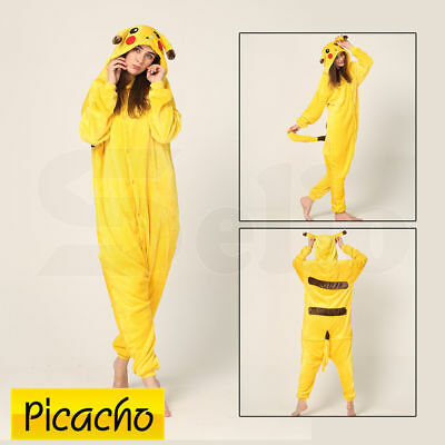 Unisex Adulte kigurumi Anime cosplay costume animal Onesie Pyjamas Suit