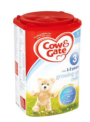 Cow and Gate 900g 1 to 2 Years Growing Up Milk Powder - stage 3 - EXP 20/11/17