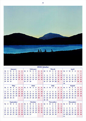 Stand by Me - 2018 A4 CALENDAR ***LATEST BUY 1 GET 1 FREE OFFER***