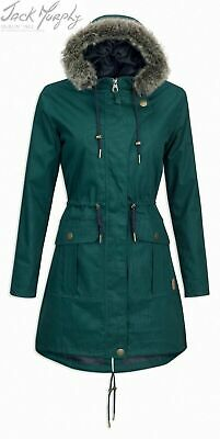 Jack Muphy Lopez Coat Ladies Waterproof Jacket Pine Green or Heritage Navy