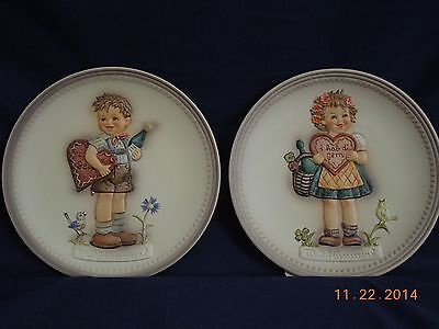 Hummel Plate Valentine Gift  (Girl Plate Only)